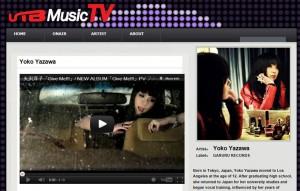 RMMS-Yoko-Yazawa-UTB-Music-TV-2012-09
