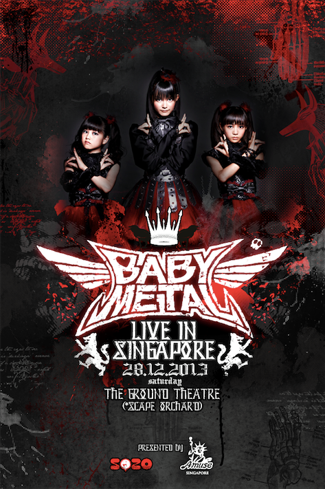 RMMS-BABYMETAL-2013-Singapore-Solo-Live-poster