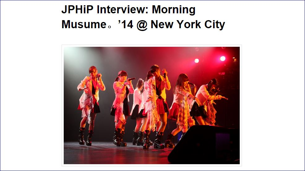 RMMS-Morning-Musume-JPHiP-interview-2014