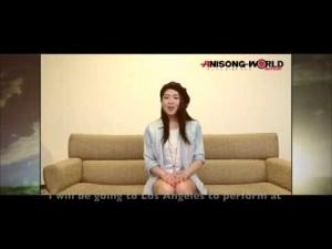 Minori Chihara – Anime Expo 2017 video message
